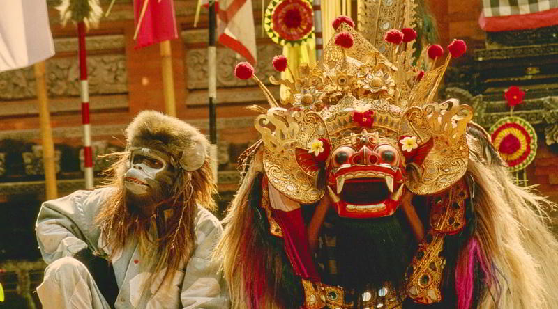 Barong and Hannumann