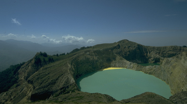 One of the 3 Coloured Lakes of Kelimutu