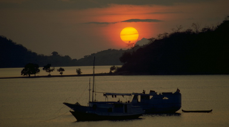 Sunset in Labuan Bajo