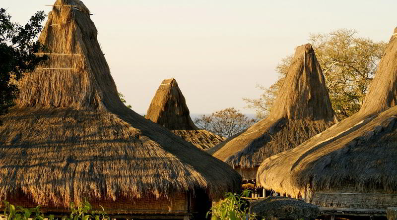 Traditional House, Sumba