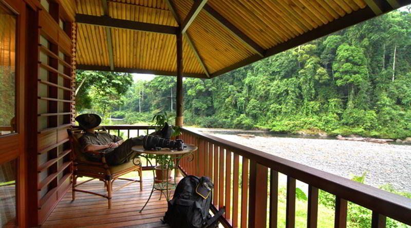 Borneo Rainforest Lodge Deluxe Chalet © Borneo Rainforest Lodge
