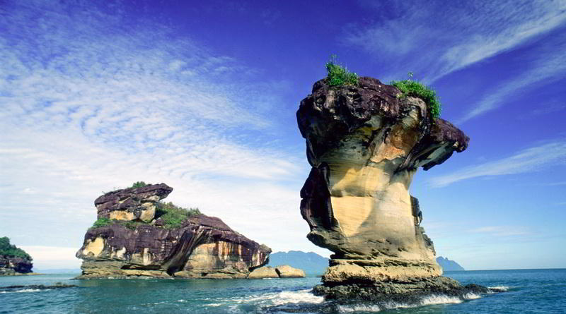 Felsformation im Bako Nationalpark © Sarawak Tourism Board