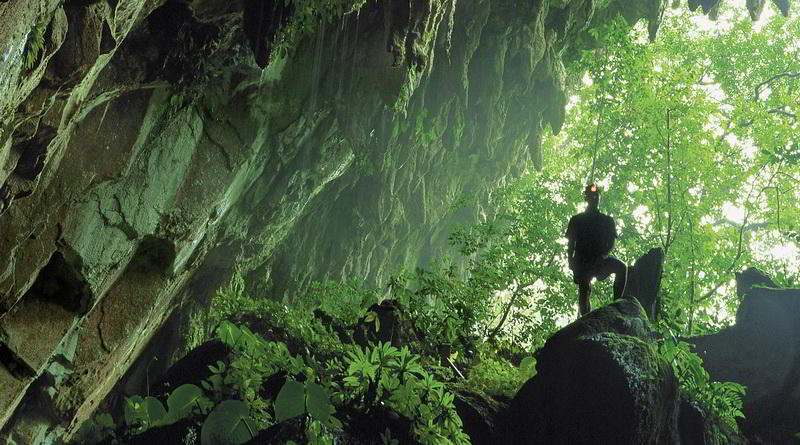 Eingang zur Clearwater Cave © Sarawak Tourism Board