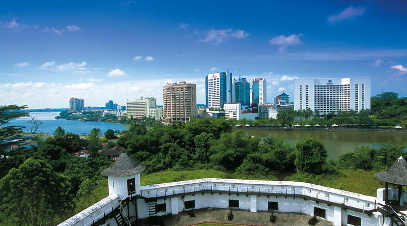 Kuching Skyline and Fort Margherita © Kirklandphotos for Sarawak Tourism Board