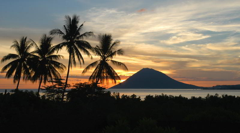Manado Tua in Bunaken National Park © Ministry of Culture and Tourism, Republic of Indonesia